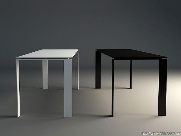 Kartell four table for Table kartell
