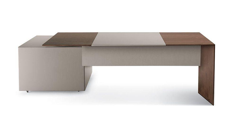 desk poltrona frau ceo cube. Black Bedroom Furniture Sets. Home Design Ideas