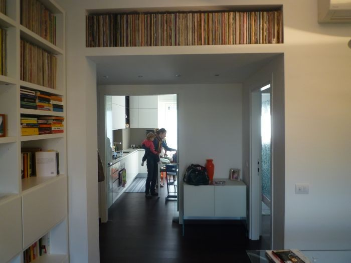 renovierung wohnung milan italy. Black Bedroom Furniture Sets. Home Design Ideas