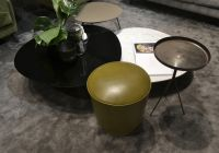 A_Round collection of coffee tables and seats by Vibieffe