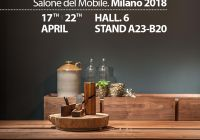 Riva1920 will take part in the Milan 2018 Salone Del Mobile