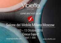 Vibieffe at Salone del Mobile. Milano Moscow