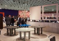 Knoll furnishings at Milan's Salone del Mobile