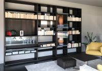 Poliform Wall System Bookcase